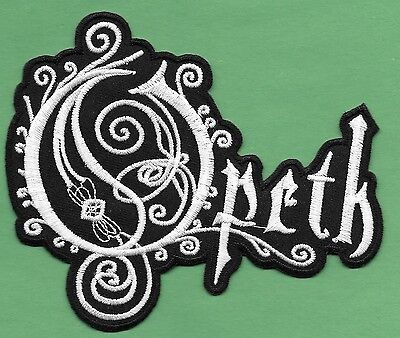 """New Opeth 4 X 4 3/4 """" Inch Iron on Patch Free Shipping"""
