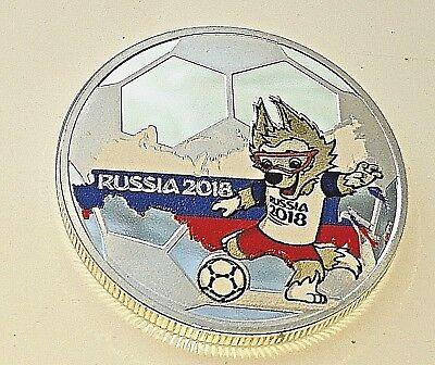World Cup Russia 2018 Silver Coin Football Players Shirts Best Argentina Nigeria