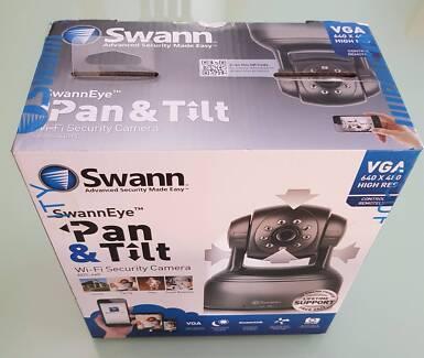 Swann Wi-Fi Security Camera, Pan and Tilt