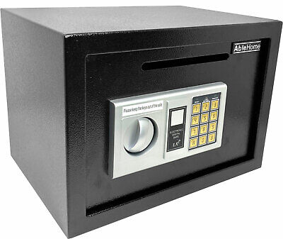 Electronic Digital Depository Safe W Cash Slot Drop Off Retail Security Vault