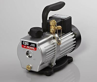 Cps Products Vp4d Pro-set Two Stage- Dual Voltage Vacuum Pump 4cfm