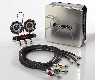 Cps Mbh4p5ez Blackmax Triple Seal 2 Valve Manifold With 5 Ball Valve Hoses
