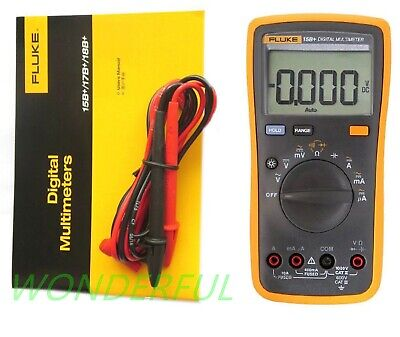New Fluke 15b Multimeter Acdcdioderc Automanual With Tl75