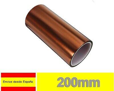 Cinta Termica 200mm Tape Temperature Resistant Polyimide Kapton 3D Printer I115