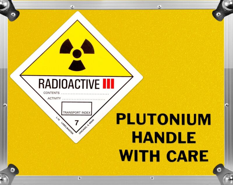 Back to the Future Plutonium Case Decal Set