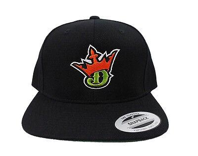 Draft Kings Snapback Hat Cap Black New Draftkings Official Basketball