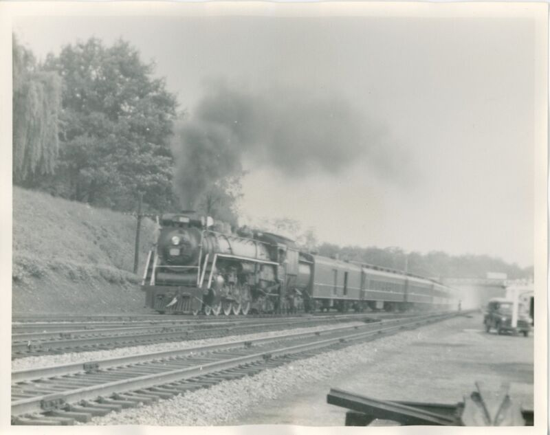 1962 Canadian National Locomotive Photo Bayview Junction Hamilton Ontario Canada