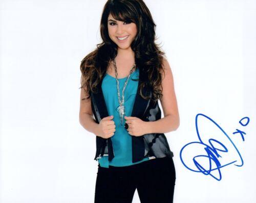 Daniella Monet Signed Autographed 8x10 Photo VICTORIOUS Actress COA