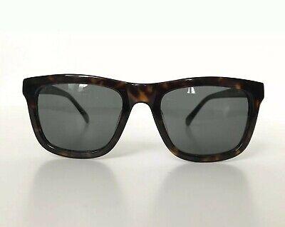 KAREN WALKER 'Deep Freeze' Tortoise Shell Rectangular Frame Sunglasses 701022