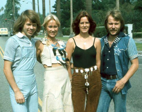 ABBA - MUSIC PHOTO #F-81