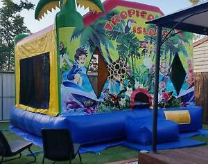 Jumping Castle. Tropical Island Jumper. Brassall Ipswich City Preview