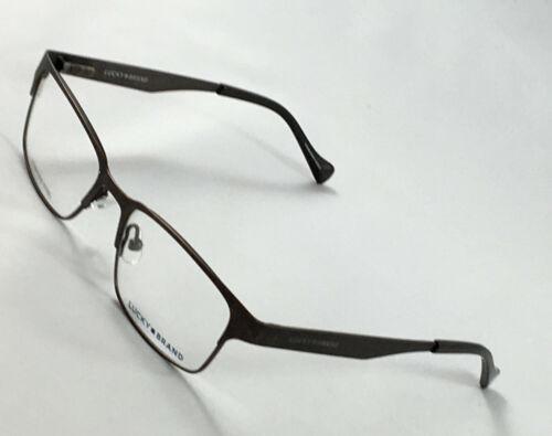 New LUCKY BRAND D808 Brown Boys Kids Eyeglasses Frames 47-16-130