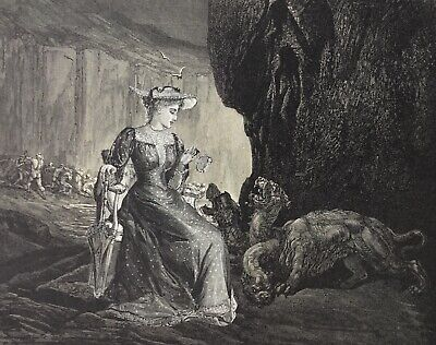 ORIGINAL SURREALIST COLLAGE ART surreal antique Victorian Edwardian 19th Century