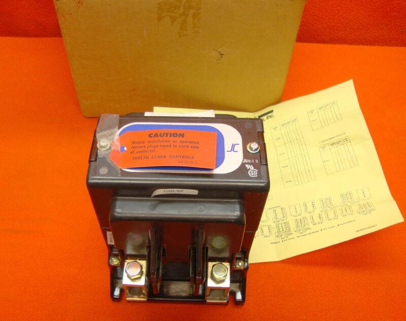 NEW Joslyn Clark Motor Contactor 5DP4-20100 Starter 5DP420100 180 Amp 500 Volt