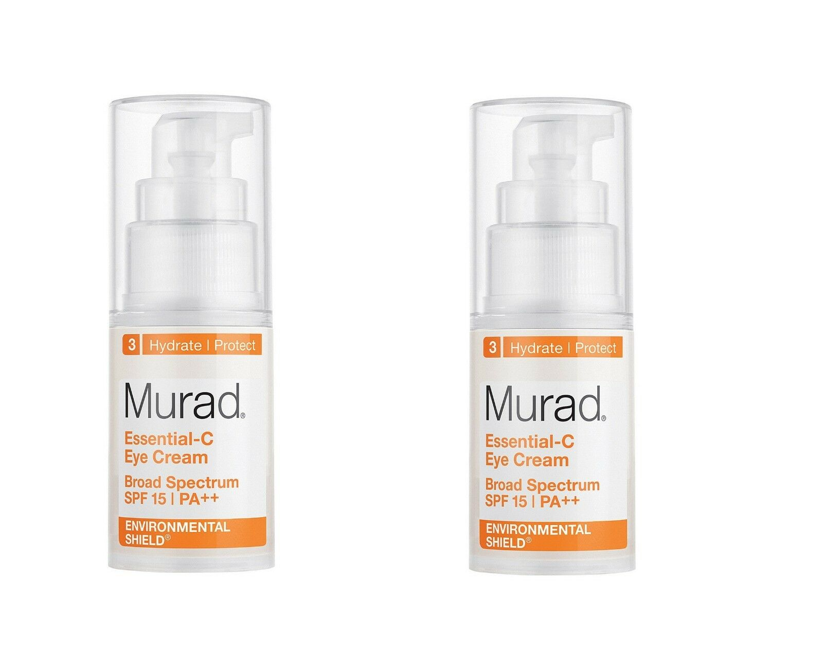 2-Murad Essential-C Eye Cream SPF15 PA++ 0.5 fl oz / 15mL x