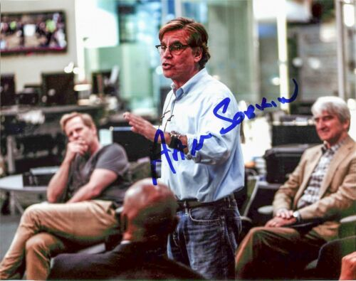 Aaron Sorkin 'The Social Network' Writer Signed Autographed 8x10 Photo PROOF JSA