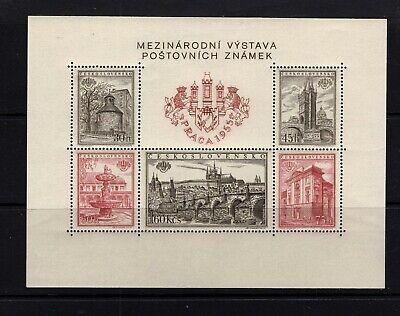 Czechoslovakia #719 (1955 Prague Views sheet) VFMNH. CV$27.50