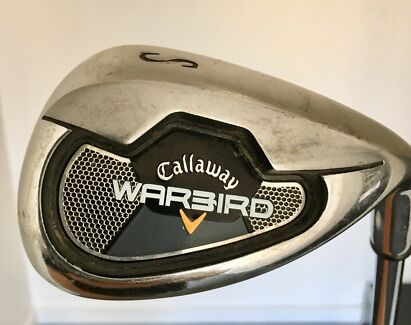 Callaway Warbird Steel Shaft Irons