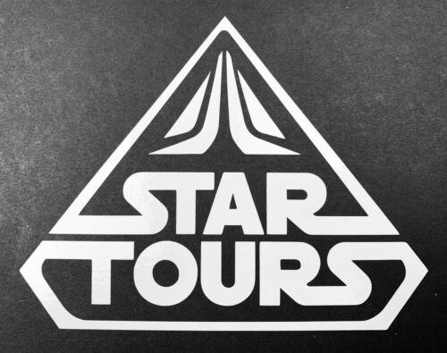 Star Tours Logo Disneyland Walt Disney World Vinyl Decal