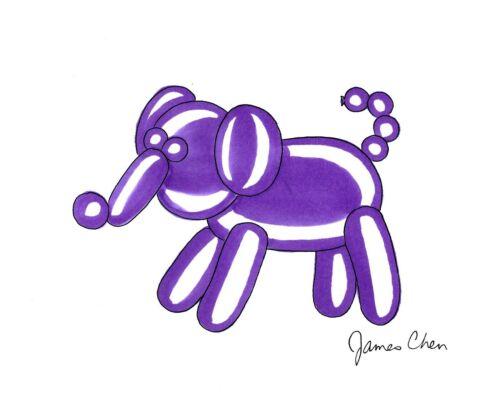 BALLOON ELEPHANT ORIGINAL COMIC ART
