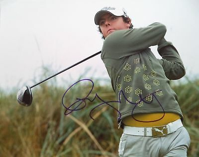 RORY McILOY 2011 U.S OPEN GOLF CHAMPION ORIGINAL AUTOGRAPHED PHOTOGRAPH