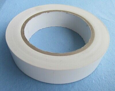 1 Roll White Vinyl Tape 1 Inch X 36 Yd. 5mil Siding Flooring Signs