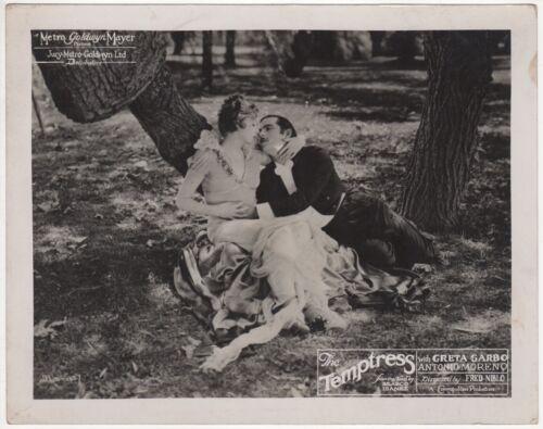 *THE TEMPTRESS (1926) Greta Garbo Seduces Antonio Moreno Ibáñez Silent Film