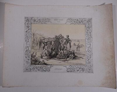 Mayr, H. Orient Ägypten Ansicht  1840 - Kostüme von Syrien
