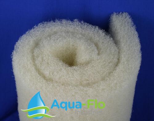 "12""x 8 ft x 2"" Universal Coarse Pond Filter Media pond pad aquarium filtration"