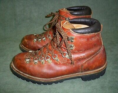 Vintage Red Wing Irish Setter Leather Hiking Mountaineer Boots - Size10.5 B