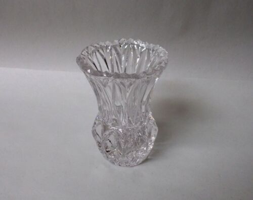 """Clear Crystal 3"""" Toothpick Holder"""