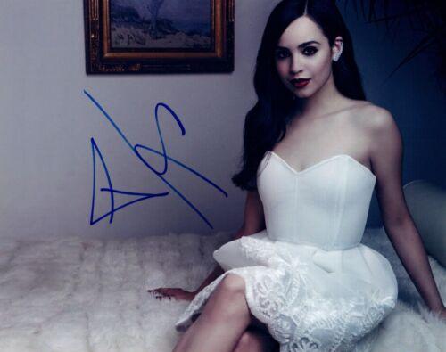 Sofia Carson Signed Autographed 8x10 Photo Descendants Actress COA