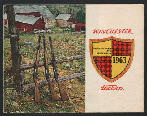 Winchester-Western Sporting Arms and Ammunition Catalog - 1963