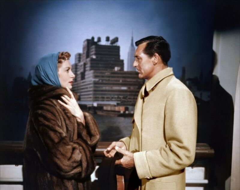 Cary Grant And Deborah Kerr Face Of Face 8x10 Photo Print
