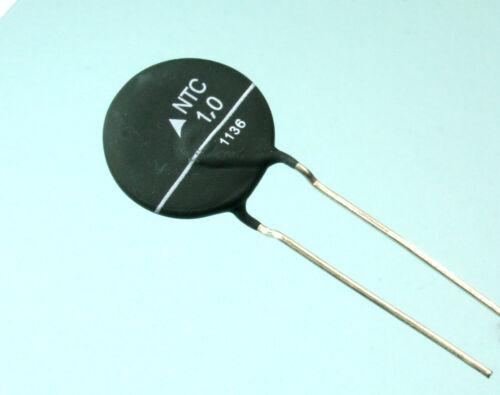 2pcs Epcos 1 ohm NTC 1D-21 Inrush Current Limiter Thermistor 16 Amp 1 ohm 21mm