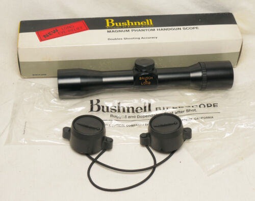 """Bausch & Lomb Japan 64-0228 2x28mm 1"""" tube pistol scope NEW OLD STOCK - SCP4"""