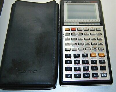 Casio Fx-7000g Scientific Graphing Calculator With Case Good Working Condition