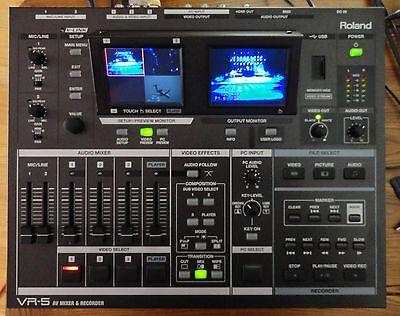 Коммутаторы и маршрутизаторы Roland VR-5 Audio