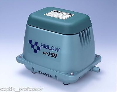 HIBLOW HP-150 NEW SEPTIC AIR PUMP POND AERATOR BLOWER MEDICINE MARIJUANA KOI DIY