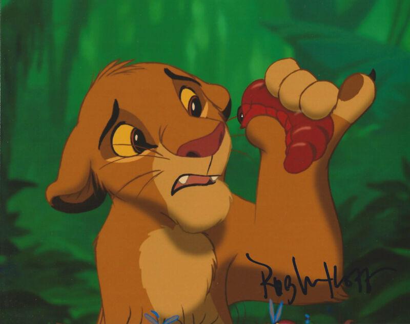 **GFA The Lion King *ROB MINKOFF* Signed 8x10 Photo MH3 PROOF COA**