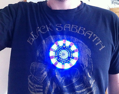 ARC REACTOR MK1 Replica Costume Prop IRON MAN HEART Tony Stark Cosplay