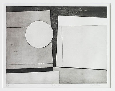 "Ursula Graeff-Hirsch, ""RAD-28"" Unikat, sign. 50cm x 70cm mit PP, 1966"