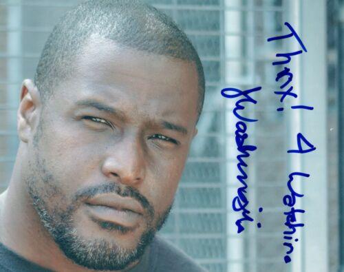 Jermaine Washington Signed Autographed 8x10 Photo Better Call Saul Actor COA