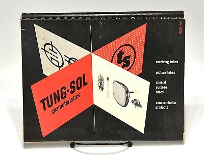 1957 TUNG-SOL RADIO TUBES AND OTHER CHARACTERISTICS GUIDE 141 PAGES