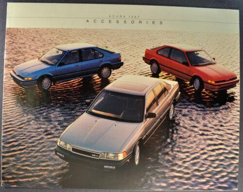 1987 Acura Accessories Catalog Brochure Integra Legend Excellent Original 87