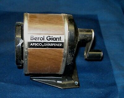 Berol Giant Apsco Pencil Sharpener Wall Mount