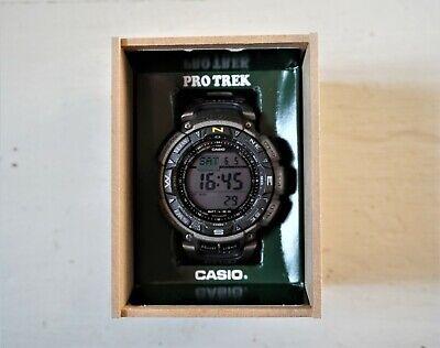 Casio Protrek PRG-240T-7DR Titanium Solar Watch Compass Altimeter Barometer
