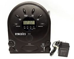 HoMedics Model SS-400B Sound Spa Clock Radio Alarm Clock Acoustic Sound Machine