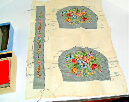 Lot Vintage Sewing Tools Notions Spools Needles Needlepoint Thimbles Kit