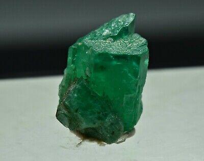 Natural Emerald Crystal Top Green Color Terminated Transparent 2.70 Carat
